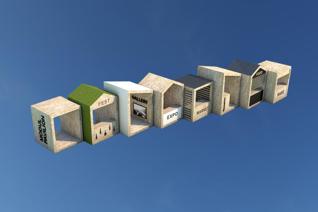 Сайт pavilion.one для продажи и аренды павильонов