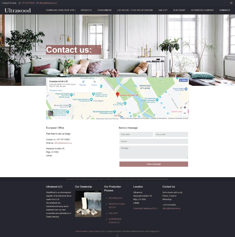 Фирменный стиль - разработка сайта в фирменном стиле компании