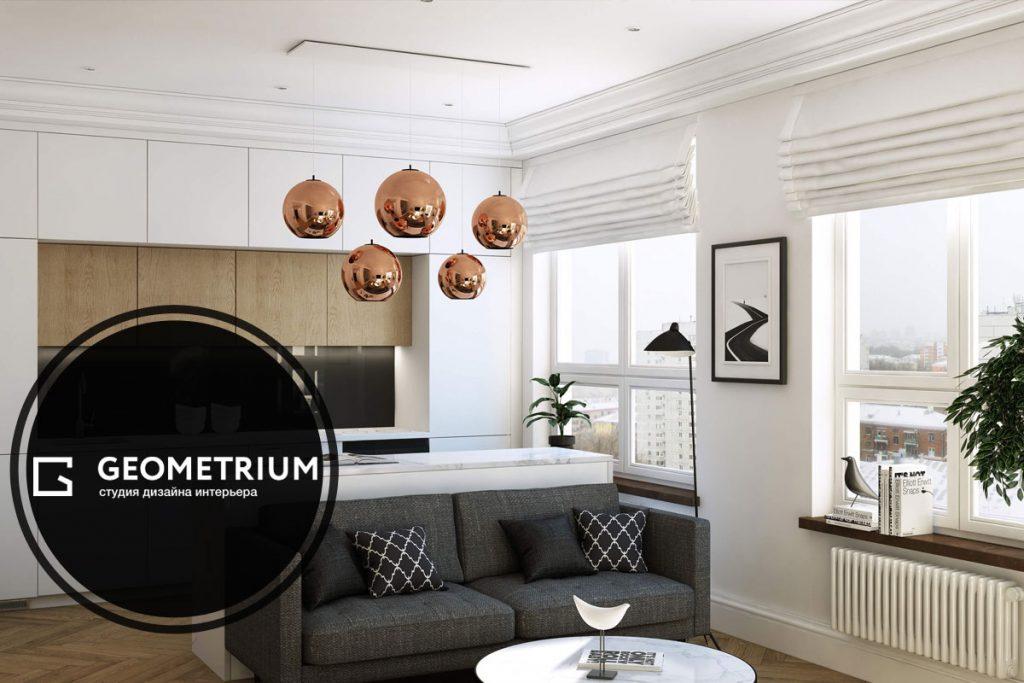 SEO-продвижение студии интерьерного дизайна Geometrium